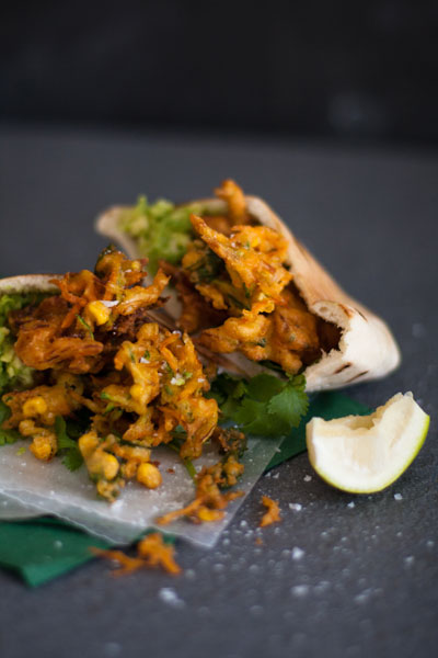 Curried Vegetable Fritters Recipe