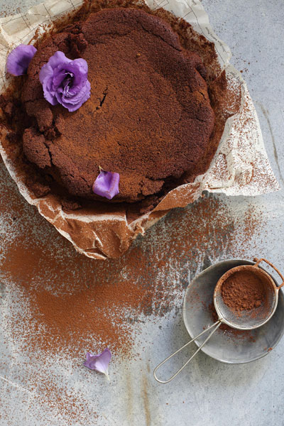 Autumn in South Africa gluten free chocolate beetroot cake