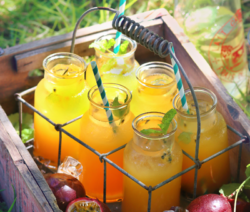 Passion Fruit & Ginger Iced Tea