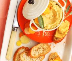 Rainbow-Carrot,-Feta-&-Sage-Pâté-with-Sesame-Melba-Toast_400x600