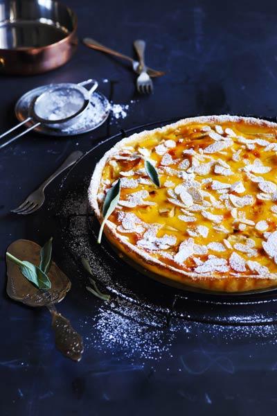 Sour Cream, Sage and Apple Pie Recipe