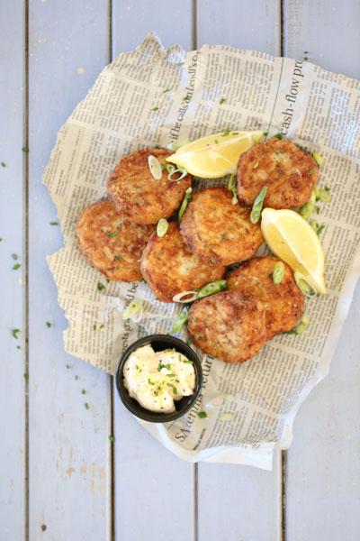 healthy fish recipes -zesty-tuna-fishcakes-with-chives-dill