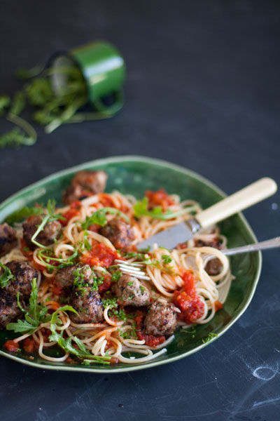 spaghetti meatballs recipe