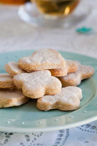 biscuit recipes Almond Shortbread Cookies