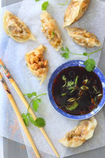 types of Asian cuisine - Prawn Coriander Dim Sum