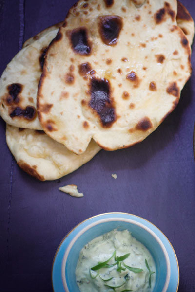 Indian Curry Recipes simple naan bread