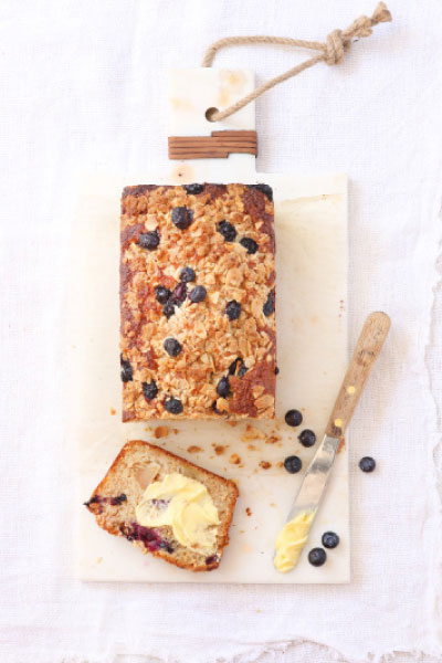 Bread Recipes Blueberry Appel Streusel