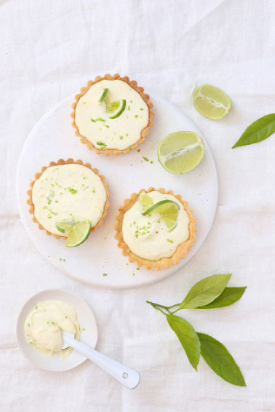 Vanilla and Key Lime Tarts NoMU's vanilla cookie kit
