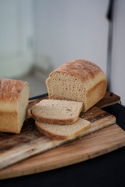 Saggy Stone Bread loaf recipe