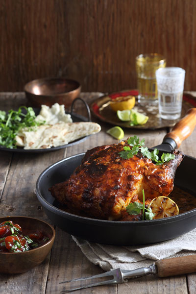 Whole Roast Tandoori Chicken Recipe Crush Mag Online