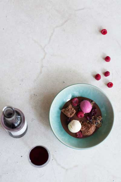 recipes with honey dark choc cremeux