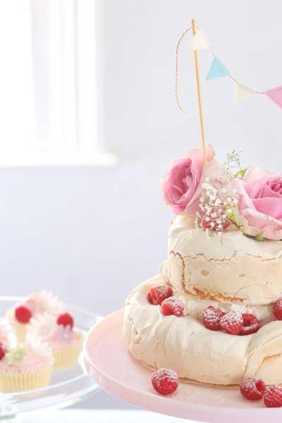 Brown Sugar Pavlova Cake recipe