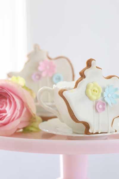 Iced Brown Sugar tea biscuits recipe