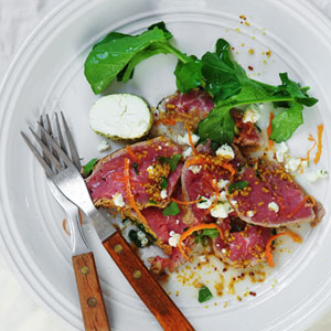Beef-Carpaccio-Goats-Cheese-&-Grapefruit-Mustard-Dressing_300x300