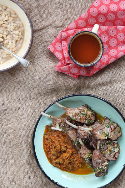 south african heritage day recipes - samp and beans
