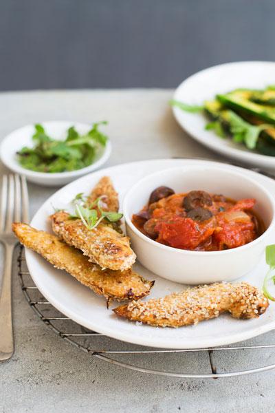 Sesame & Chermoula-spiced Chicken Pieces