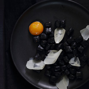Squid-Ink-Gnocchi-with-a-Slow-Cooked-Egg-Yolk-&-Parmesan_300x300