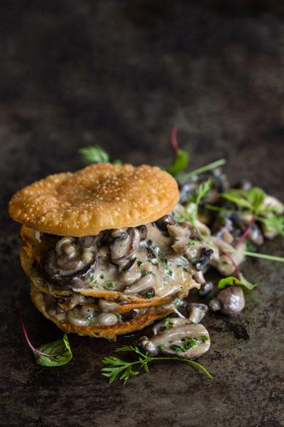 Modern Mushroom Pie