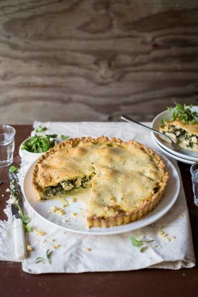 savoury pie recipes chicken spinach pie
