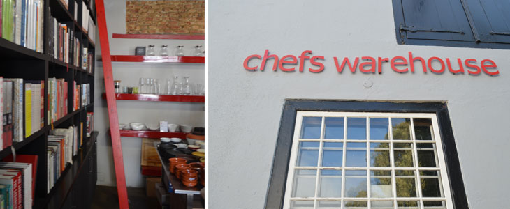 An American in Cape Town: Chef's Warehouse