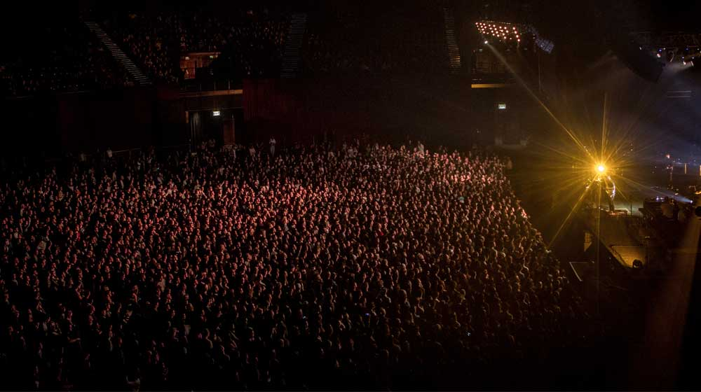Crowds at Ben Howard Cape Town
