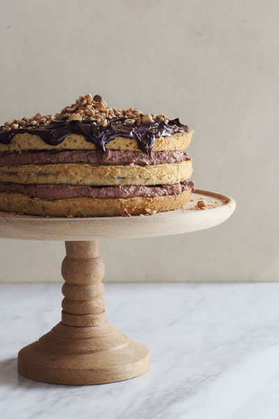 Hazelnut & Coffee Layer Cake