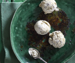 Matcha Green Tea, Mint & Black Sesame Seed Ice Cream