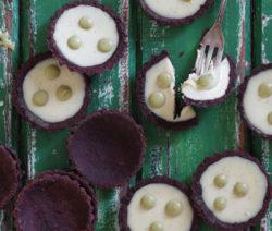 Matcha Green Tea, Mint & White Chocolate Drop Tarts
