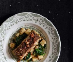 Nut & Seed Crusted Hake with Gnocchi