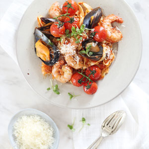 Filled with the flavours of the Italian coast!