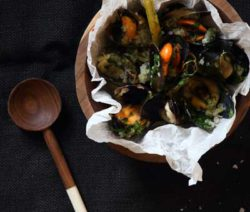 Thai Mussels with Chilli & Coconut