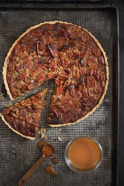 Salted Caramel Pecan Nut Pie