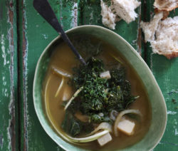 MatchaGreenTea and Kale-Soup