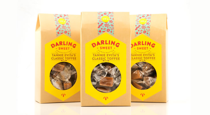 Old School Darling Sweet Toffees