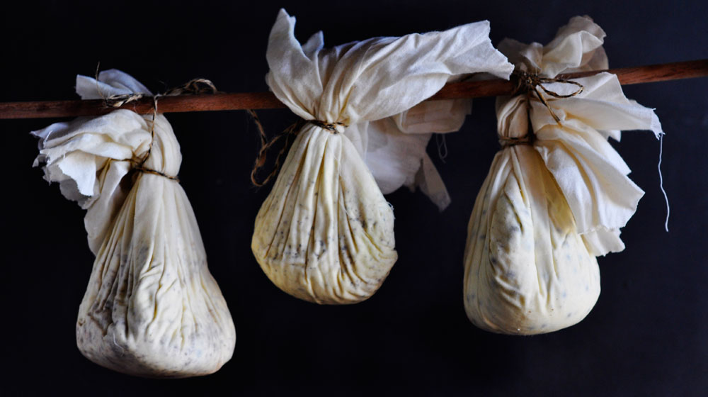 how to make hanging cheese