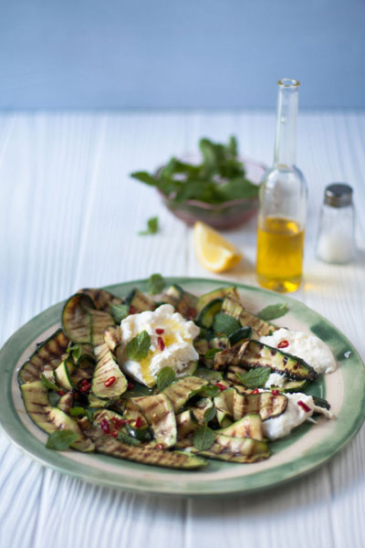 braai banting recipes Grilled Courgette Salad