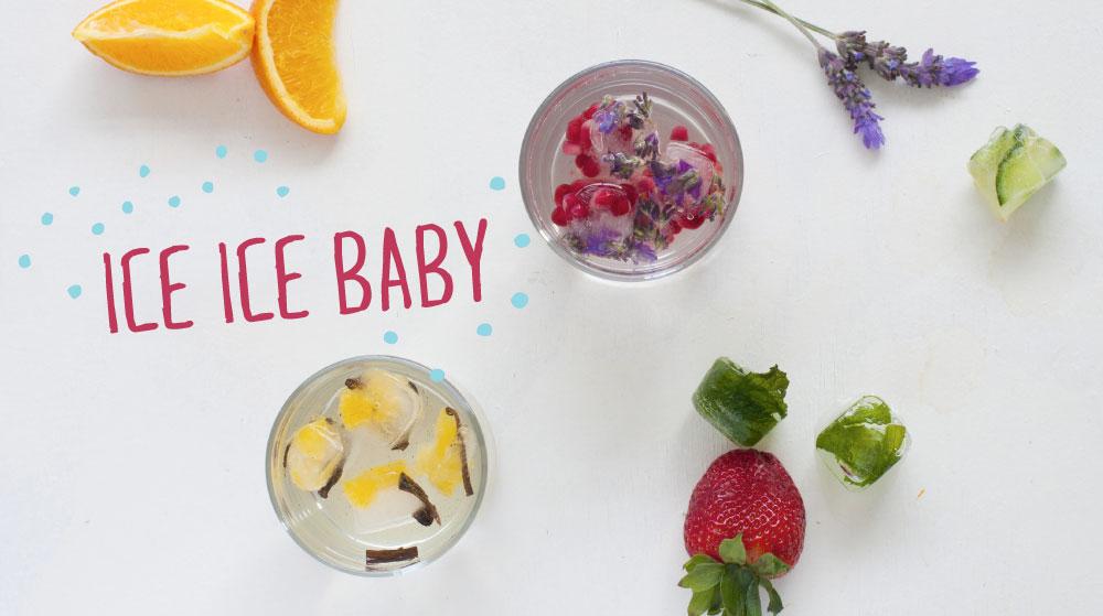 Ice Ice Baby Flavoured Ice Blocks
