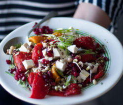 Pepper-and-Pomegranate-Salad
