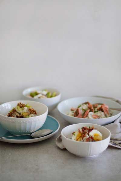 Four Stylish Potato Salads