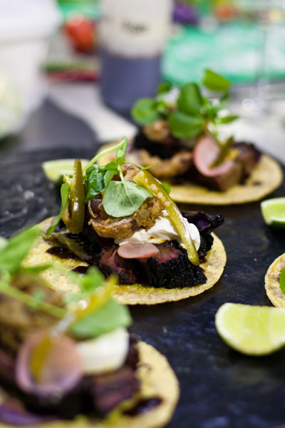 Mexican Food - Midnight Blue Beef Taco