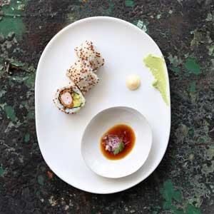 Tempura Argentinian Prawn Quinoa Sushi