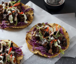 Asian Beer Braised Taco