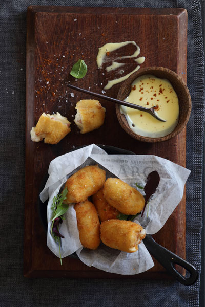 Cheesy Spanish Croquetas