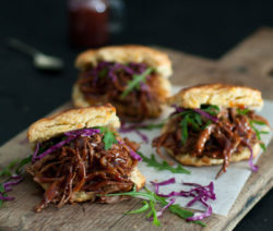 Chipotle Beef Brisket with Cheddar Biscuits 4x6