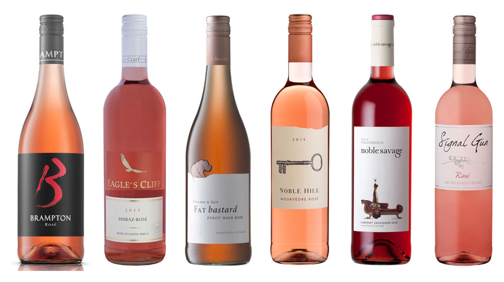 Top Rosé Wines South Africa 2015 - Winners Announced