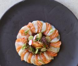 Salmon-Scallop-Ceviche