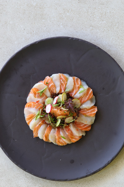 healthy fish recipes - salmon-and-scallop-ceviche