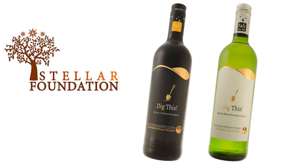 Dig This! Wine made by the Stellar Foundation