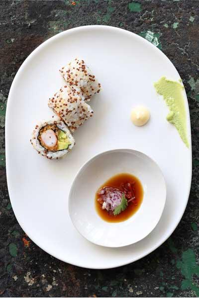 Tempura Argentinian Prawn Quinoa Sushi Recipe