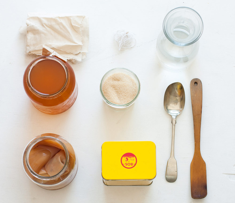 Ingredients-Kombucha